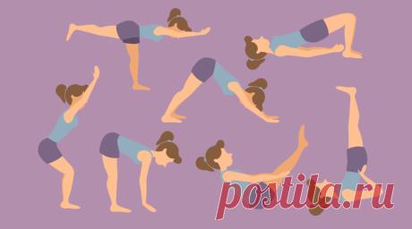 7 антицеллюлитных асан из йоги | 2LongLife