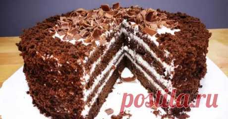 В чём прелесть шоколадного торта на кефире «Черный принц» - Важно знать - медиаплатформа МирТесен