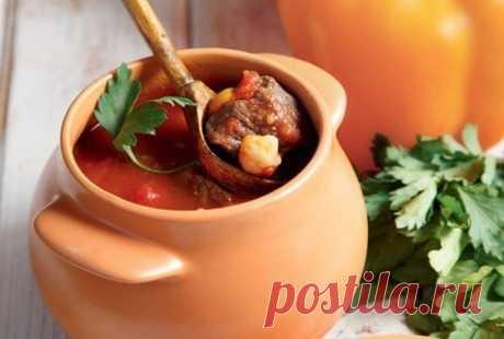 Как приготовить говядина в горшочках в духовке - рецепт, ингредиенты и фотографии