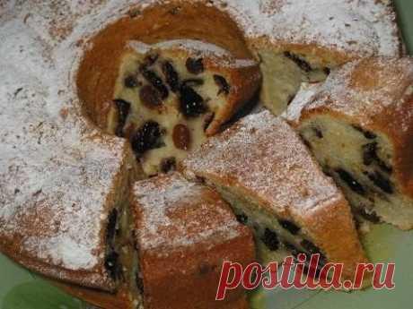 Как приготовить йогуртовый кекс с черносливом - рецепт, ингридиенты и фотографии