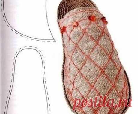 Шитая обувь своими руками 481
