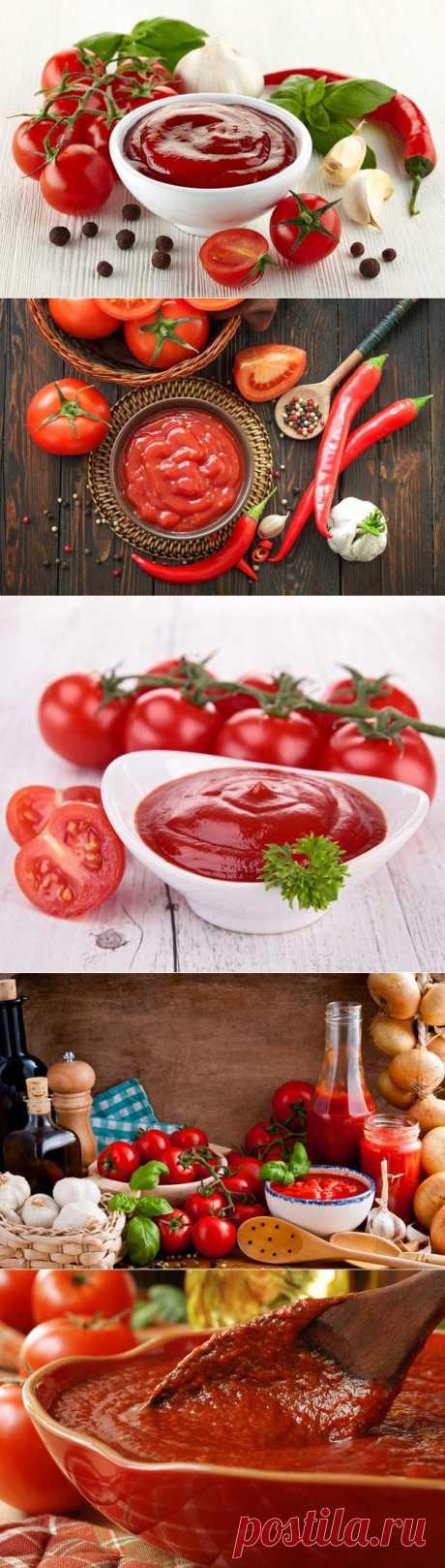 Секреты приготовления домашнего кетчупа