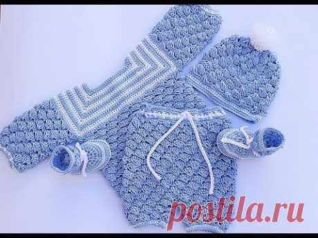 Вязание крючком для малышей с маховичским крючком