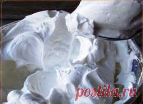 Белковый крем заварной | Рецепты вкусно