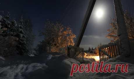 Фотография пользователя mikereva - Одной зимней, лунной ночью... из раздела пейзаж №5410259 - фото.сайт - Photosight.ru