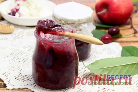 Джем из вишни и яблок | PRO RECEPT