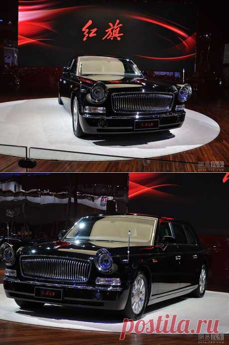 FAW RedFlag L9 limousine - the most expensive Chinese car!