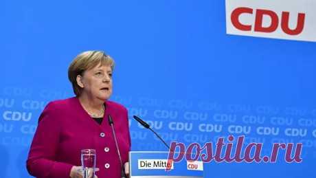 Германия заинтересована в хороших отношениях с Россией, заявила Меркель - РИА Новости, 22.11.2019