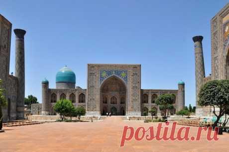 Площадь Регистан в Самарканде — Путешествия