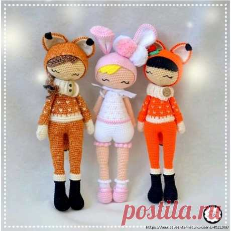 Куколки в костюмчиках
