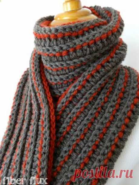 Episode 171: How to Crochet the Every Man Scarf Learn how to crochet the Every Man Scarf with this easy tutorial! Full written pattern here: ... Visit the Fiber Flux blog for free patterns & tutorials: .... Crochet, How, Crochê, Scarf,