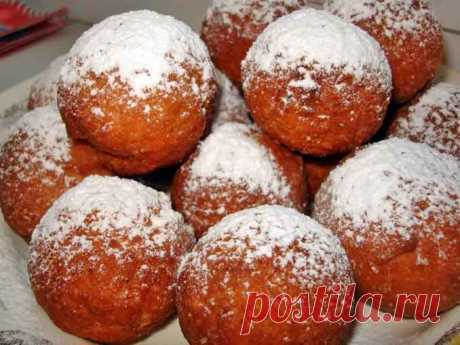 Постные пончики: рецепт без молока и яиц