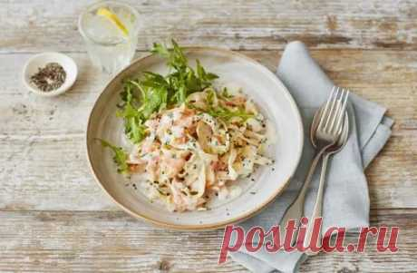 Паста с рыбой: быстро, необычно вкусно и полезно - Скатерть-Самобранка - медиаплатформа МирТесен