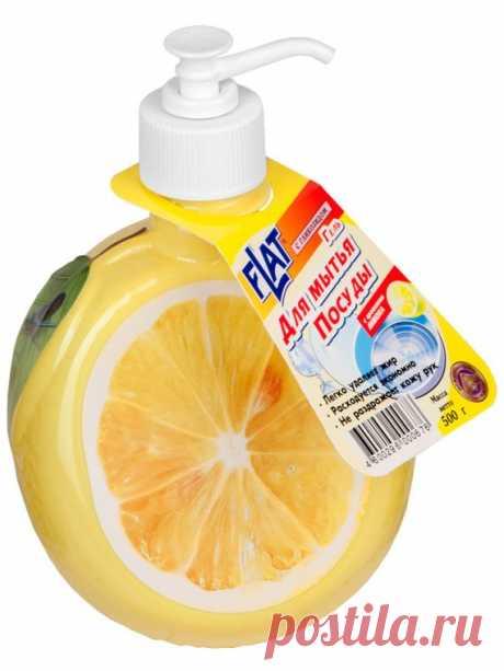 Расширяем область применения жидкости для мытья посуды