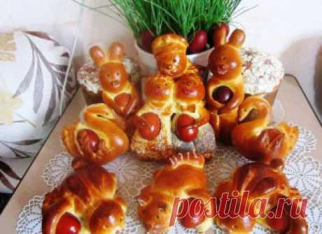 Рецепт пасхальных зайчиков - Рецепты блюд готовим еду