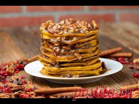 Butternut Squash Pancakes •Tasty