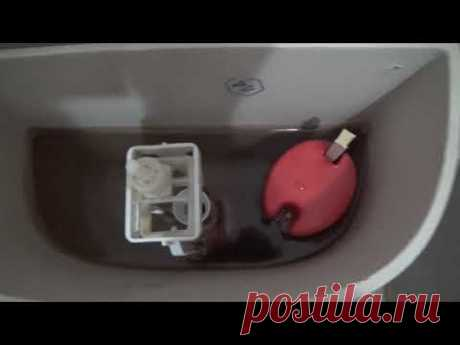 Сливной бачок не набирает воду. Лёгкий способ устранения этой проблемы.