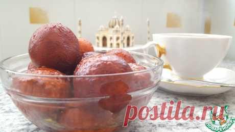 """Гулаб Джамун - традиционные сладости индийской кулинарии. Дословный перевод этого лакомства звучит, как """"фруктовая роза""""... оно необыкновенно вкусное и необычное! Представляю вам классический рецепт Гулаб с начинкой."""