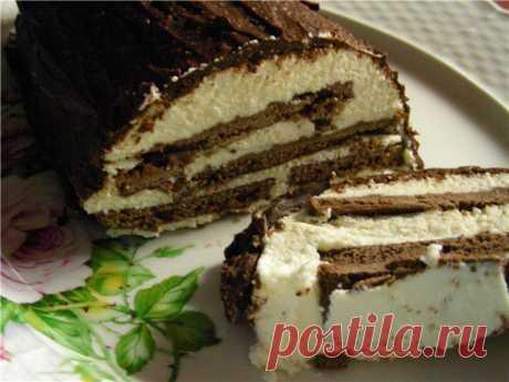 Сметанно-творожный торт (вариант без выпечки!). Автор: chemicolya