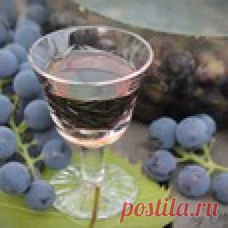 """Виноградная настойка """"Пряно-пьяная Изабелла"""" Кулинарный рецепт"""