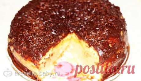 Торт «Птичье молоко» с фото