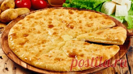 Осетинские пироги — лучшие рецепты вкусной выпечки Осетинские пироги традиционное блюдо Осетии. Очень вкусные, сытные, мягкие. Пироги с картофелем, капустой и сыром, тыквой. Попробуйте испечь. Это несложно!