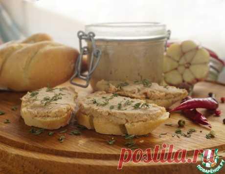 Рийет из свинины на французском багете – кулинарный рецепт