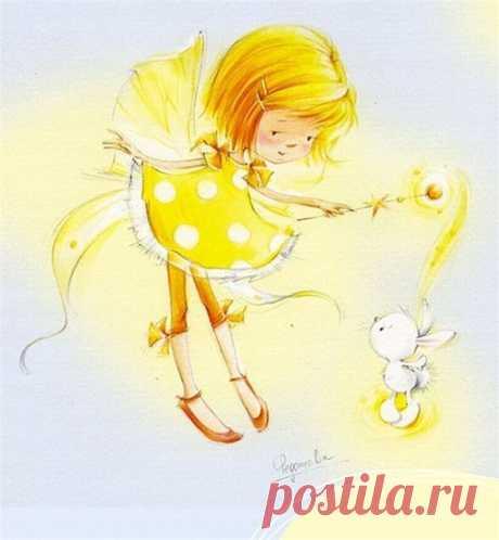 Картинки для декупажа, скрапа, коллажей. Девочки и феечки художника-иллюстратора Марины Федотовой. / Рукоделие