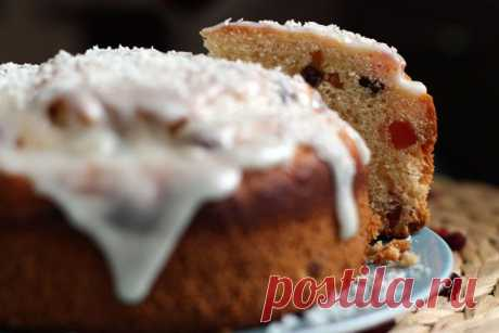 Польский кулич — рецепт с пошаговыми фото. Foodclub.ru