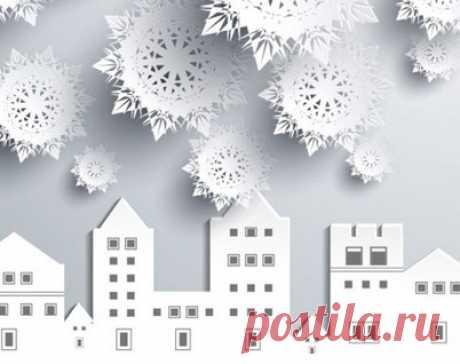 8 лучших идей как украсить окна на Новый год…
