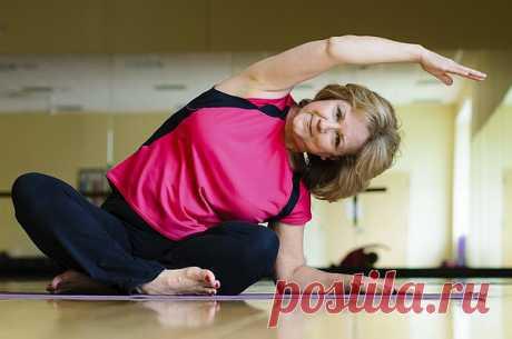 Пилатес: 5 упражнений, которые способны творить чудеса с организмом зрелого возраста.