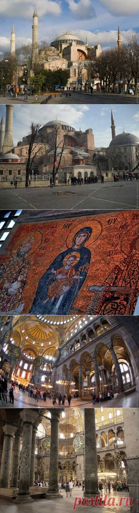 Собор Святой Софии в Стамбуле, фото и описание собора