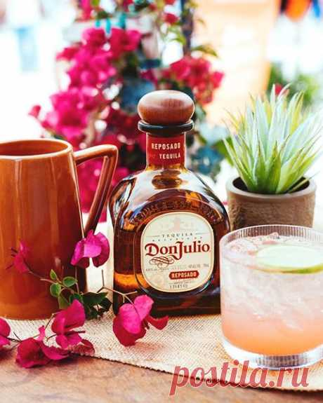 Give your tequila cocktail a splash of spring with fresh grapefruit juice, lime juice, and soda water. #ForThoseWhoKnow  Ingredients: 1½ oz Don Julio Reposado  1 oz Fresh Grapefruit Juice  ½ oz Fresh Lime Juice  ½ oz Agave Nectar  Splash of Soda Water  Grapefruit Peel or Lime Wedge  Instructions: Combine Don Julio Reposado, fresh grapefruit juice, fresh lime juice, and agave nectar into a cocktail shaker with ice. Shake well and Strain into a glass over ice. Add a soda water.