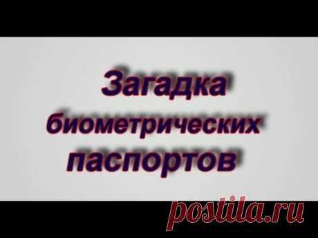 Загадки биометрических паспортов.  Павел Карелин