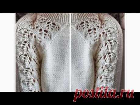 Анонс моего МК по вязанию чудесного свитерка. Фото работы Натальи Пелых.