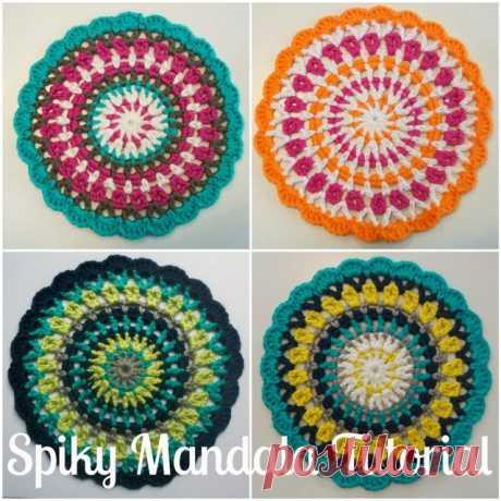 Spiky Mandala Tutorial! | Lizzie Bella | Bloglovin'