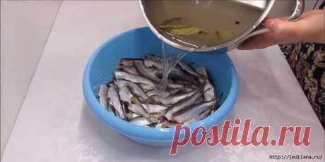 Вкусный и простой способ замариновать рыбу