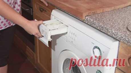В стиральной машине обнаружена плесень! Хорошо, что я знаю этот чудо-метод… - Что хочет женщина