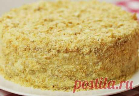 Торт Наполеон не печем: просто собрали и готово