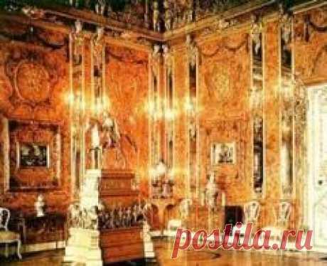 Сегодня 31 мая в 2003 году В Екатерининском дворце Царского Села состоялось официальное открытие воссозданной Янтарной комнаты