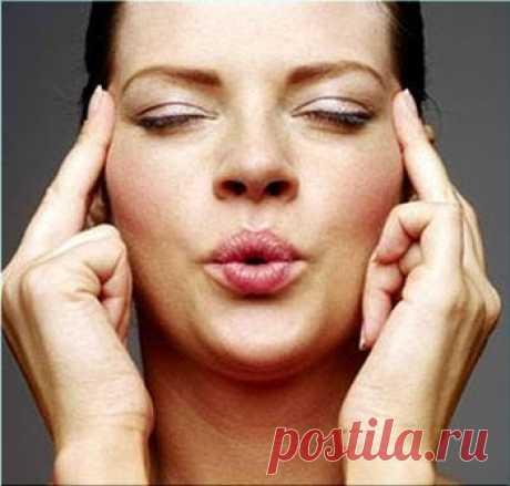 От пухлых щечек: комплекс упражнений для похудения лица