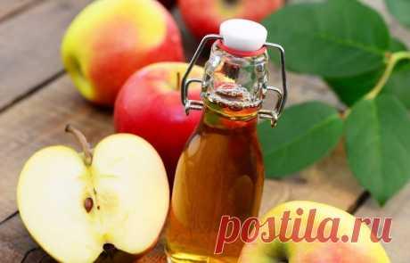 Как нормализовать давление с помощью яблочного уксуса
