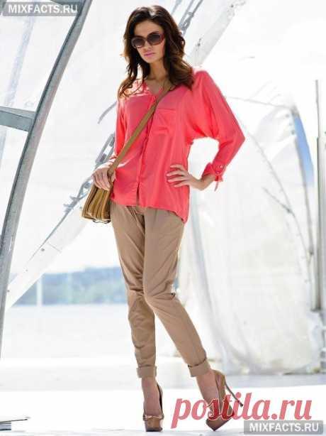 Женские брюки-чинос (фото)