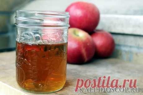 В чем польза яблочного уксуса и как его употреблять | Калейдоскоп