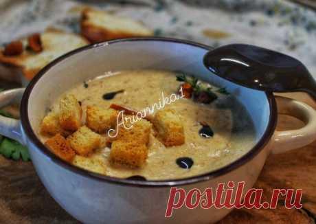 (11) Крем-суп из лисичек - пошаговый рецепт с фото. Автор рецепта Инна . - Cookpad