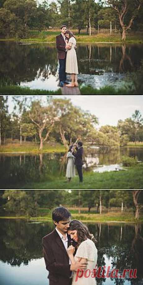 Гармония с природой: love-story Тимофея и Натальи - WeddyWood