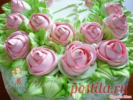 Мой любимый БЕЛКОВО-ЗАВАРНОЙ КРЕМ - Клуб для тех, кто обожает торты и пирожные - Страна Мам