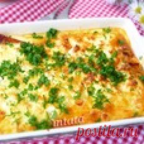 Тыква с яйцом и фетой Кулинарный рецепт