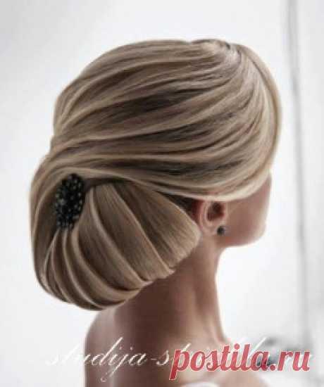 Прическа Ракушка на длинные волосы | Стрижки и Прически