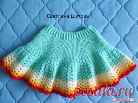 . Весенние юбочки крючком - Вязание - Страна Мам